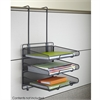 Onyx™ Panel Organizer Triple Tray Black