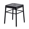 Safco® Steel Guest Stool Black