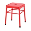 Safco® Steel Guest Stool Red