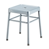Safco® Steel Guest Stool Silver
