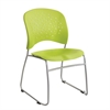 Reve™ Guest Chair Sled Base Round Back (Qty. 2) Green