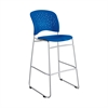 Reve™ Bistro-Height Chair Round Back Blue