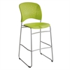 Reve™ Bistro-Height Chair Round Back Green