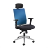 Tez™ Manager Chair with Headrest Blue