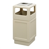 Canmeleon™ Recessed Panel, Ash Urn, Side Open, 38 Gallon Tan