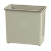 Rectangular Wastebasket, 27-1/2 Qt. (Qty. 3) Sand