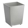 Checks Wastebasket (Qty. 3) Gray