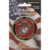 Pioneer Self-Adhesive Metal Military Medallion Marine Corps