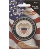 Self-Adhesive Metal Military Medallion Navy