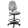 Medium Gray High Back Drafting Height Monarch Chair