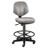 Alvin Gray Comfort Classic Deluxe Drafting Height Task Chair