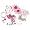 Blue Hills Studio Irene's Garden Potpourri Paper Flower & Embellishment Pack Pinks