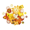 Blue Hills Studio Irene's Garden Potpourri Paper Flower & Embellishment Pack Yellows
