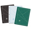 Green/Black Professional Self-Healing Cutting Mat For 3-Ring Binders