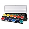 Finetec Watercolor Paint Transparent 24-Color Set