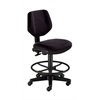 Black Comfort Classic Deluxe Drafting Height Task Chair