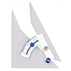 "Alvin Tru-Angle 12"" Adjustable Triangle with Inking Edge"