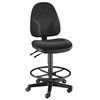 Black High Back Drafting Height Monarch Chair
