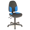 Alvin Black & Blue High Back Office Height Monarch Chair