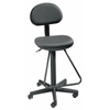 Alvin Black Economy Drafting Height Chair