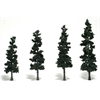 "Woodland Scenics 4""-6"" Ready Made Tree Value Pack Conifer"