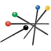Color Ball Pins 1-1/4""
