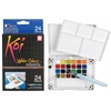 Koi Watercolor Paint Pocket Field Sketch 24-Color Set