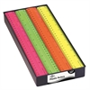 "12"" Fluorescent Plastic Rulers Display Assortment"