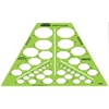 Isometric Ellipses Template