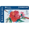 Staedtler Karat Aquarell Watercolor Crayon 24-Color Set