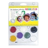 Snazaroo Face Painting Clam Shell Kit Rainbow