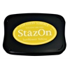 StazOn Solvent Ink Pad Sunflower Yellow