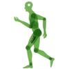 """Alvin Human Figure 13.75"""" Template"""