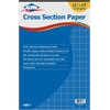 "Cross Section Paper 4"" x 4"" Grid 50-Sheet Pad 11"" x 17"""