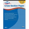 "Alvin Cross Section Paper 8"" x 8"" Grid 50-Sheet Pad 17"" x 22"""