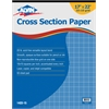 "Cross Section Paper 10"" x 10"" Grid 50-Sheet Pad 17"" x 22"""