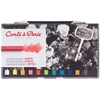 Conté Crayon 12-Color Assorted Set