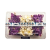 Blue Hills Studio Irene's Garden Box O'Gardenias Dimensional Paper Flowers Dark Purple/White