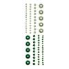 Adhesive Pearls Green