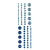 Blue Hills Studio ColorStories Adhesive Gems Blue