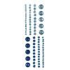 Adhesive Gems Blue