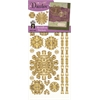 Dazzles Stickers Gold Medallion