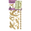 Dazzles Stickers Gold Bird