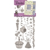 Dazzles Stickers Silver Celebration