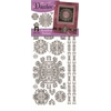 Dazzles Stickers Silver Medallion