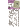 Dazzles Stickers Silver Bird