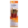 Watercolor Acrylic and Tempera White Taklon Brush Set
