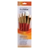 Princeton RealValue Watercolor Acrylic and Tempera White Taklon Brush Set