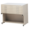 5-Drawer C-File Black