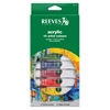 Reeves 22ml Acrylic 10-Color Set